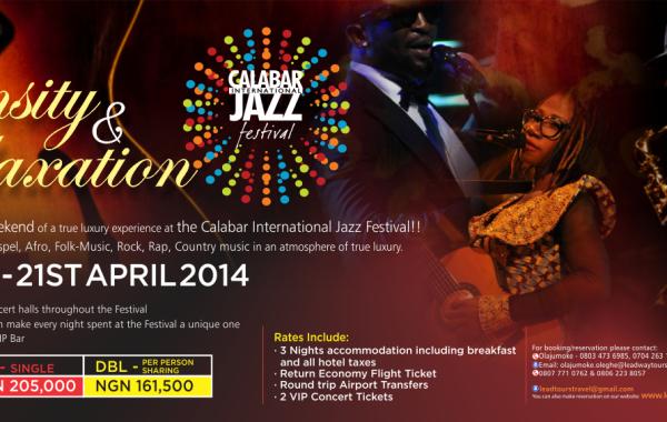 Calabar Jazz Fest 2014