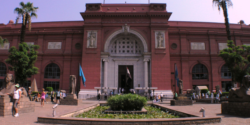 The-Main-Entrance-Egyptian-Museum-Cairo-Egypt